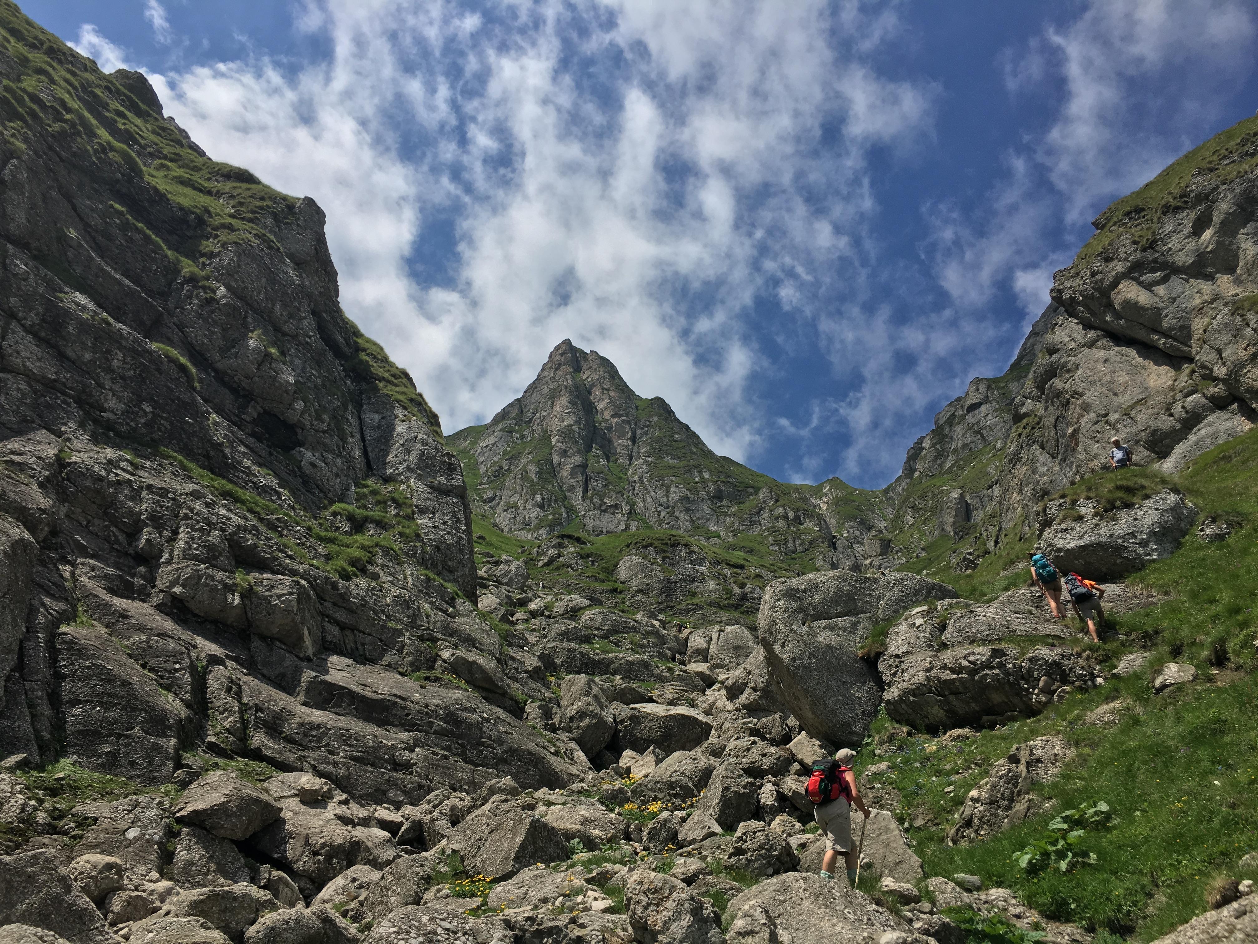 Anduranta in Bucegi - Valea Morarului