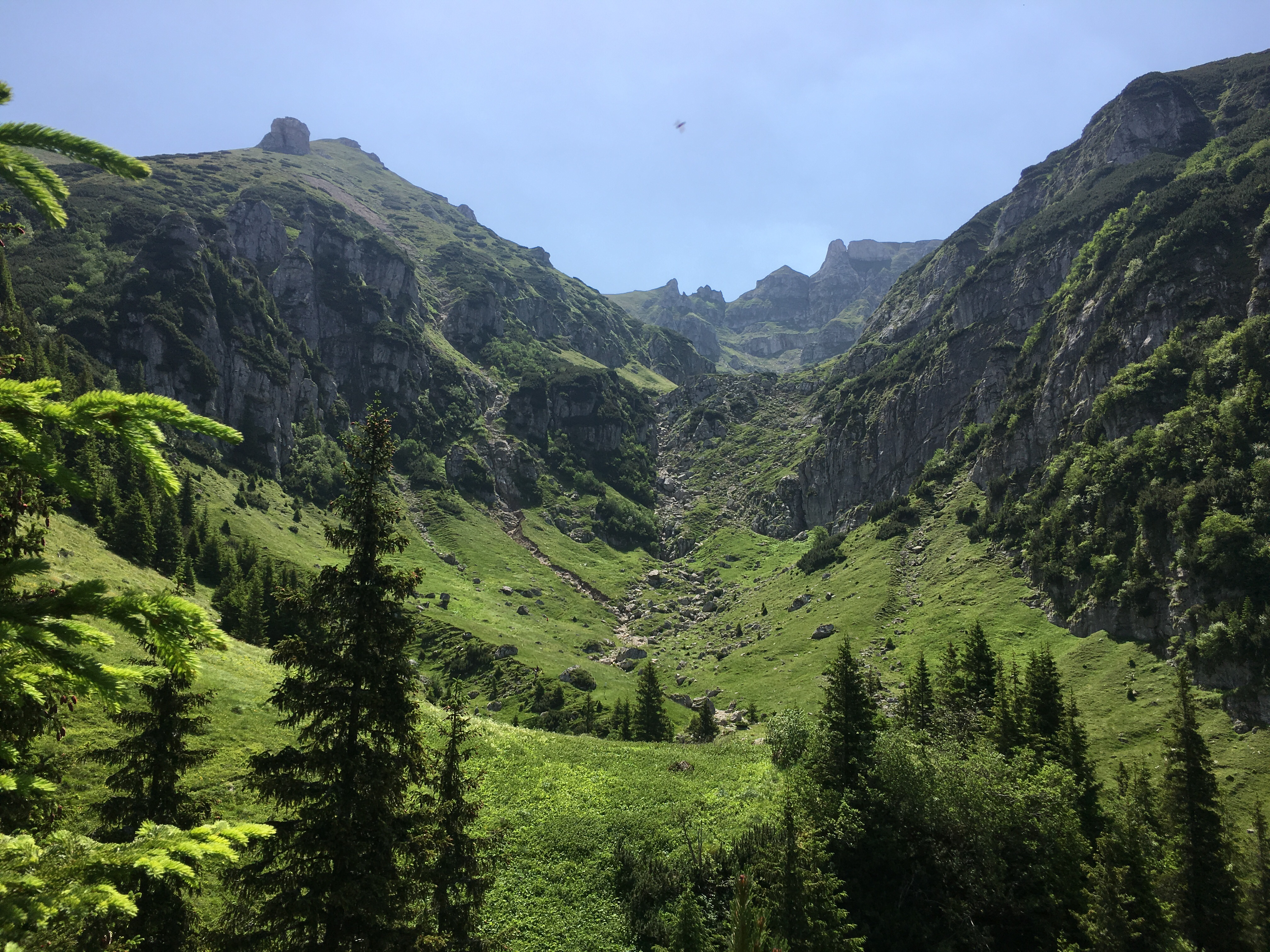 O zi in Bucegi prin Ciubotea si Valea Gaura
