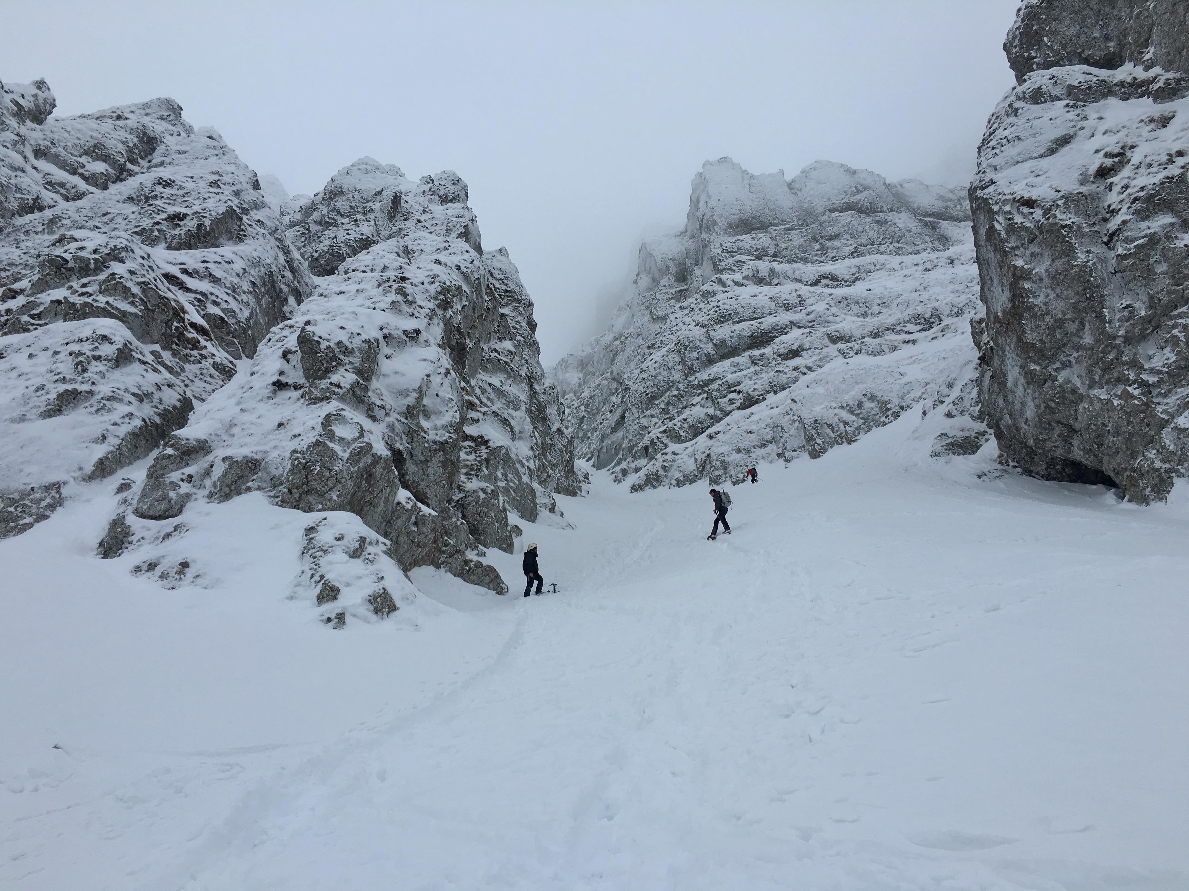 Trei trasee de iarna in Bucegi