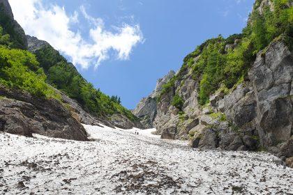 Valea Alba - Muntii Bucegi