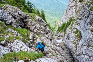 Valea Coltilor si Valea Alba   Muntii Bucegi